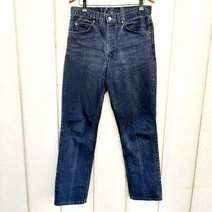 Levi Black Vintage Boyfriend Mom Jeans